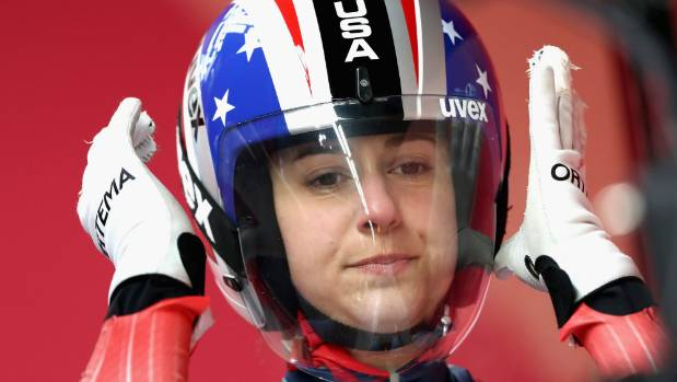 american luger emily sweeney silences winter olympics 1