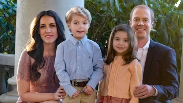 Laura Mitchell, Burgess Abernethy, Preston Karwat, and Briella Weintraub as Kate the Duchess of Cambridge, Prince ...