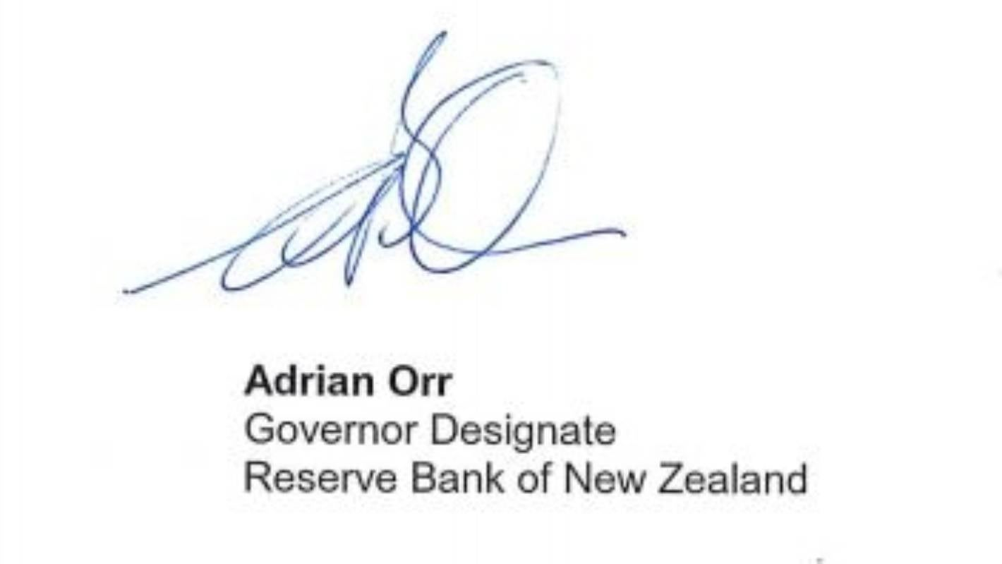 Reserve Bank governor's mother orders him to work on his