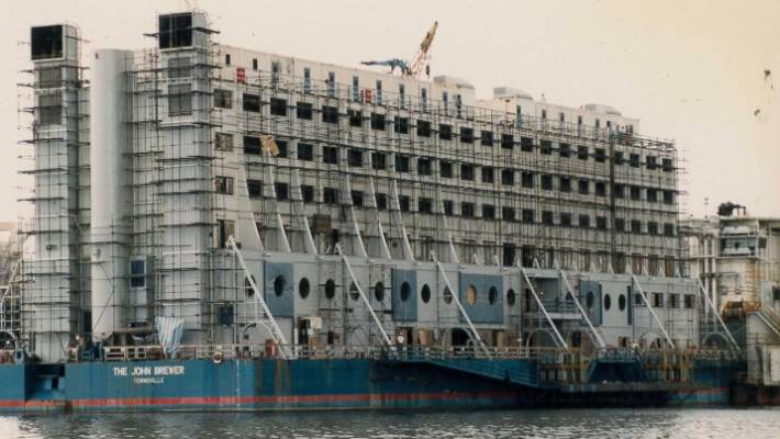 The Bizarre Story Of How Australia S Floating Hotel Ended Up