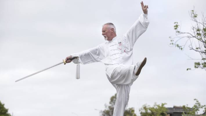 David Phew says he's looking forward to the challenge of attempting to break a Tai Chi marathon world record.
