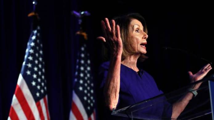 Nancy Pelosi has been Minority Leader of the US House of Representatives since 2011.
