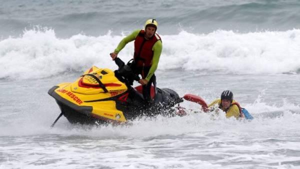 surf life saving emergency call