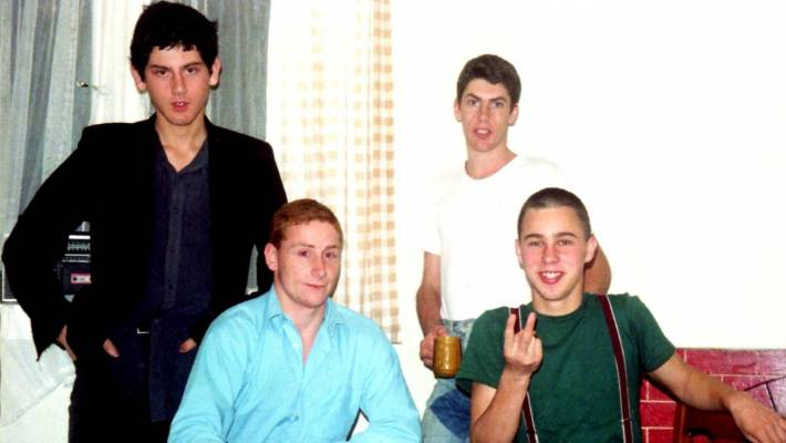 The very young men of Proud Scum.