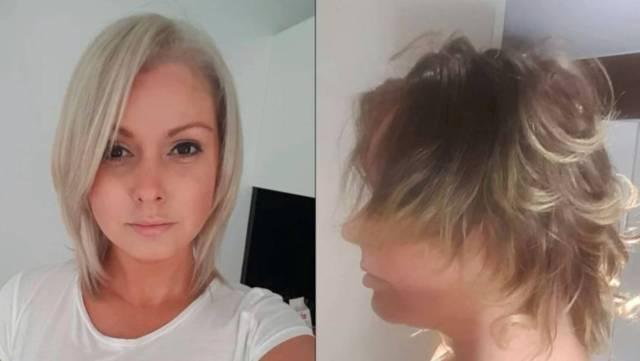 mullet' haircut ruins australian woman's hair, confidence