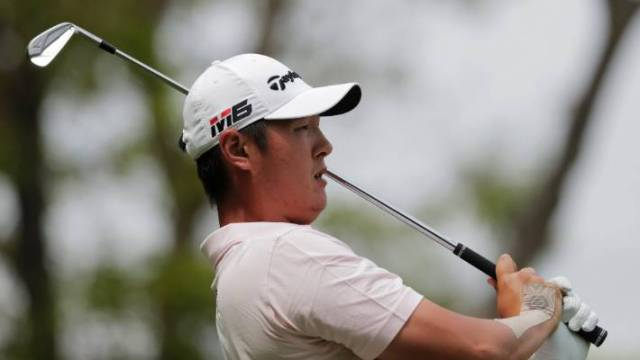 Danny Lee has fallen out of contention at the PGA Championship.