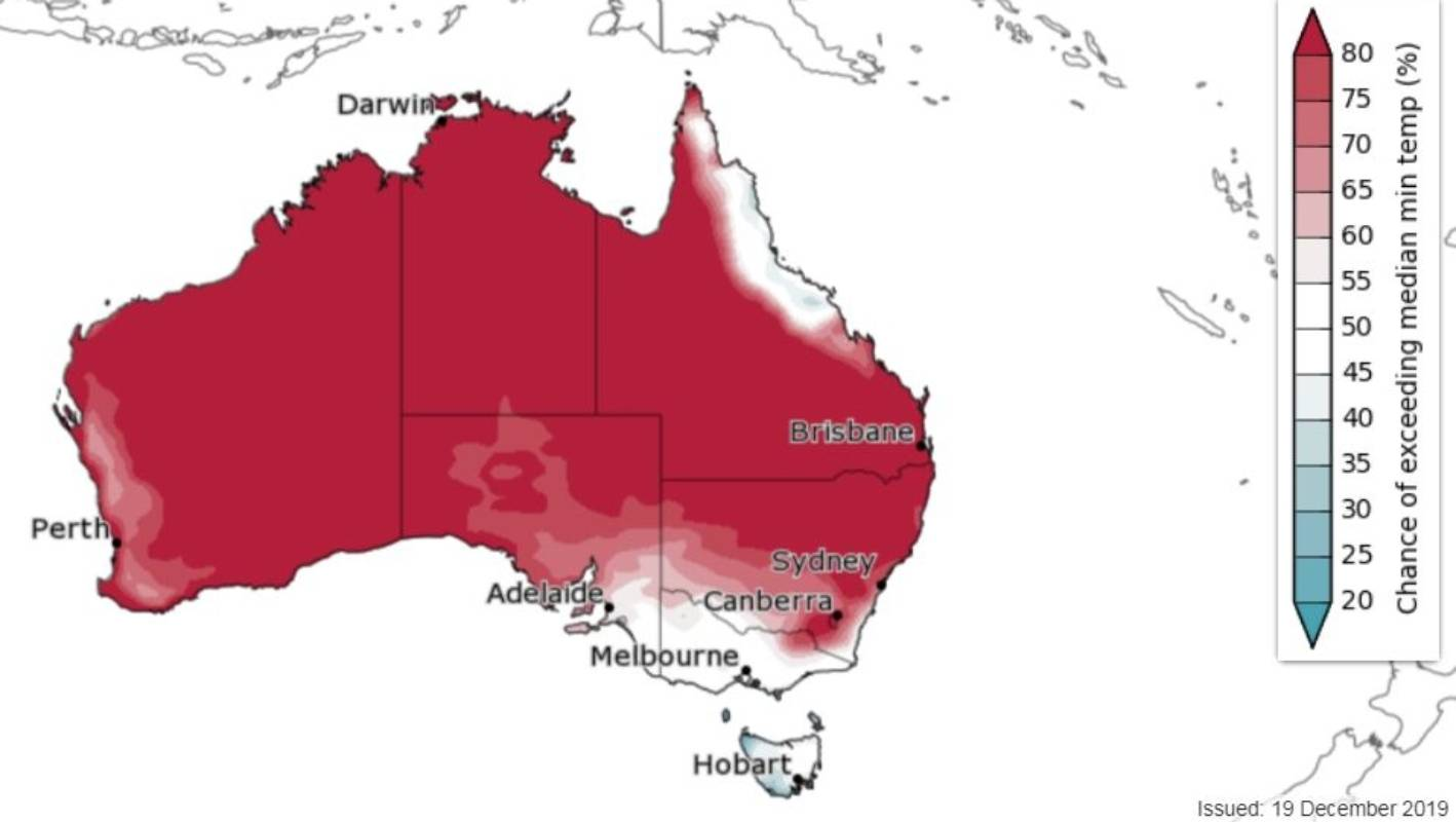 Australian Heatwave So Hot Weather Maps Are Being Pushed