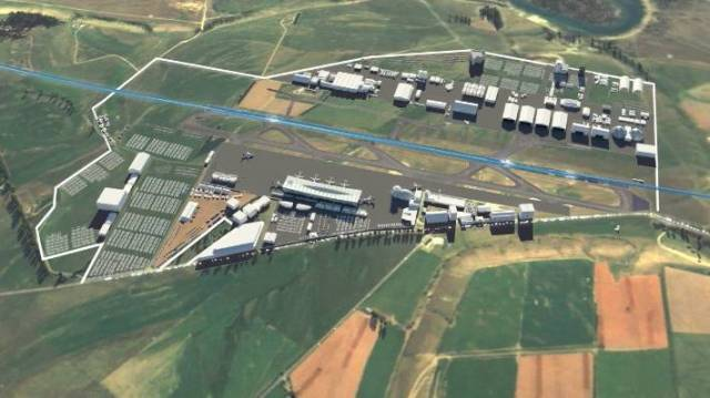 An animation of the proposed jet capable Wanaka airport.