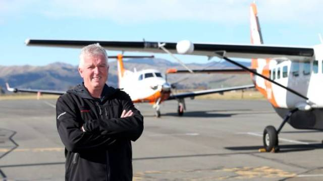 Sounds Air general manager Andrew Crawford says they would fly Pilatus PC12 craft on the Wanaka-Christchurch route.