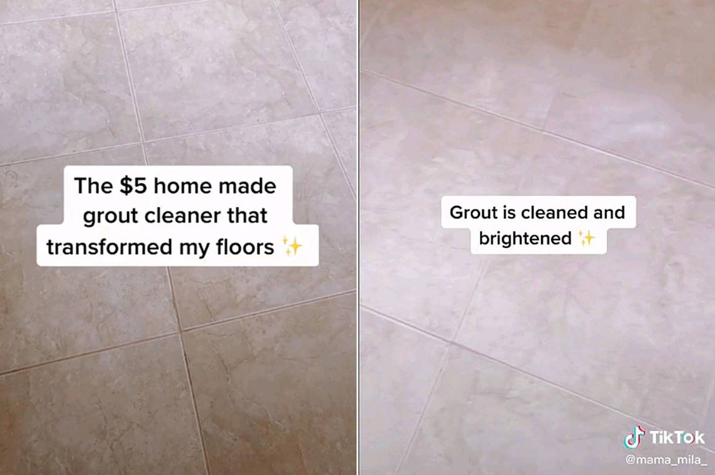 5 homemade grout cleaning hack that