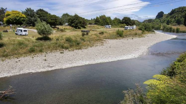 Although there was no direct evidence, a scientist found the discharges would have affected aquatic life in the Mangatainoka River, which flows past the Tui Brewery on SH2. (File photo)