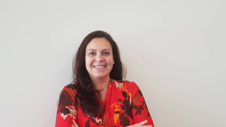 Dr Juliana Leite, a postdoctoral fellow at the Riddet Institute (Massey University), is studying what proteases produce what peptides, and what effects these peptides have in the body.