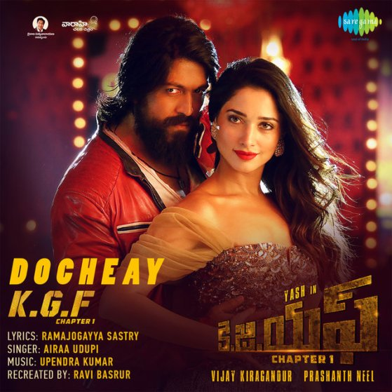 "Docheay (From ""K.G.F. Chapter 1"") - Single by Upendra Kumar on TIDAL"