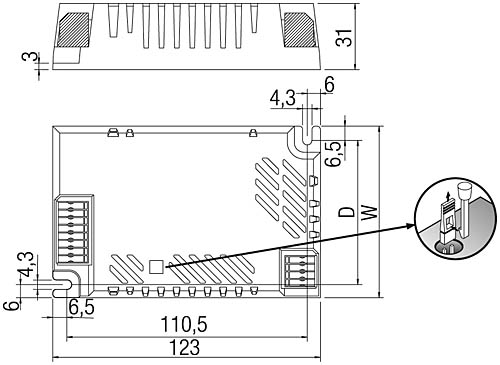 tridonic emergency ballast wiring diagram ford starter pc cfl combo 220 240 v 50 60 hz