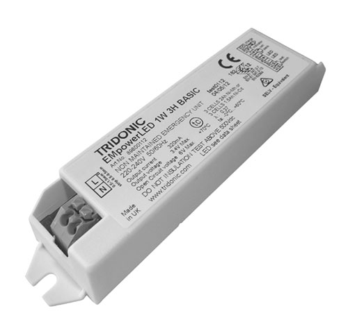 tridonic emergency ballast wiring diagram charging system lighting led driver 1 w screw fix
