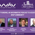 RDOF Podcast Panelist: Zach Hubeck, Ted Osborn, Claude Aiken, and Dave Island