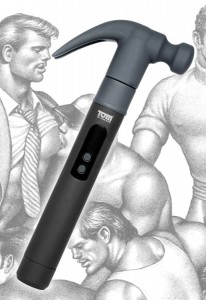 Tom of Finland Night Stick and Hammer with 2 Interchangeable Heads; TF1913 - MSRP: $99.99
