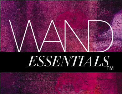 Wand Essentials Black bar full color logo 390 x 300