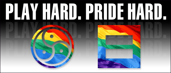 Pride Banner Black Flag 570x242