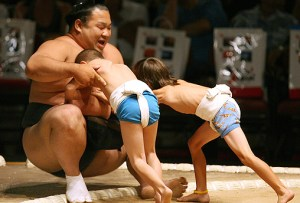 Sumo and kids