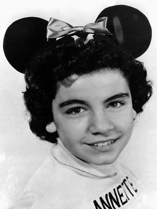Annette Funicello as a Mouseketeer in 1955