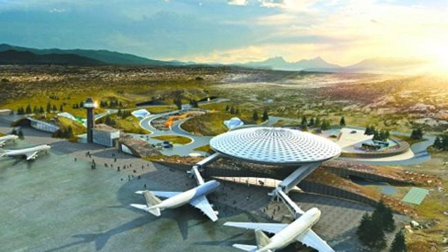 World's highest-altitude airport in China.