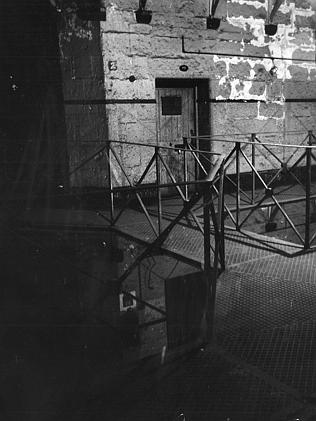 Ned Kelly took his last steps across the catwalk from this condemned cell at the Old Melbourne Gaol.