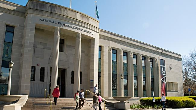 The National Film and Sound Archive in Canberra. Fine by day, but would you wander around at night?