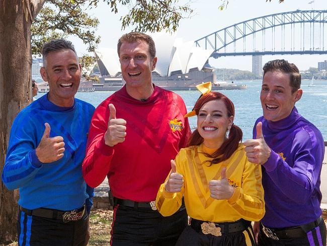 The Wiggles will headline the Hyde Park stage on Australia Day.