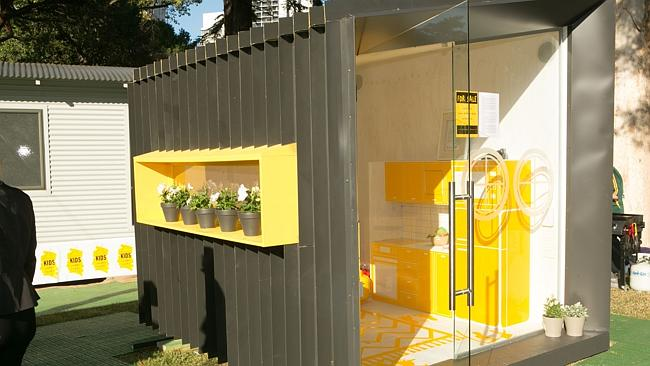 "The Switch cubby, by Sabi Designs, was created to ""switch on"" children's imaginations."