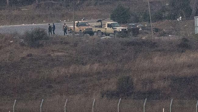 UN peacekeepers kidnapped at Golan Heights