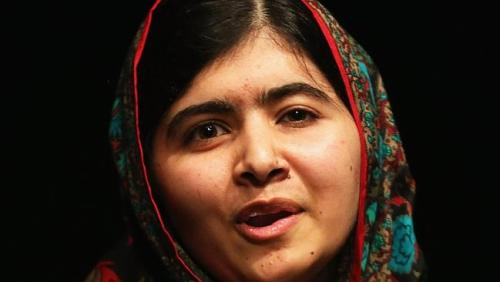 Malala Yousafzai switches effortlessly between striding the world stage and studying for