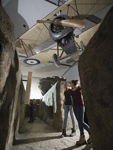 A Great War trench has been recreated at London's Imperial War Museum. Picture: IWM Londo