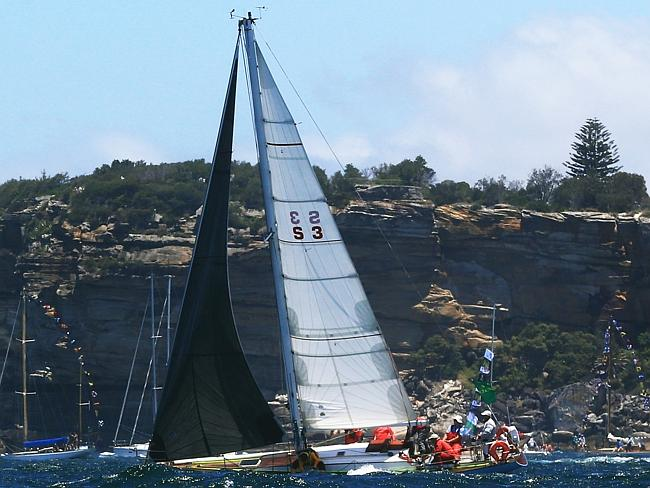Tina of Melbourne is already out of the Sydney to Hobart. Picture: Mark Evans