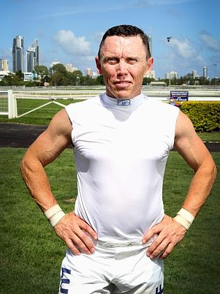 The main for the occasion: jockey Chris Munce. Picture: Jono Searle