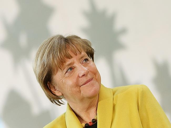 German Chancellor Angela Merkel now sees an exit by Greece from the eurozone — meaning Gr