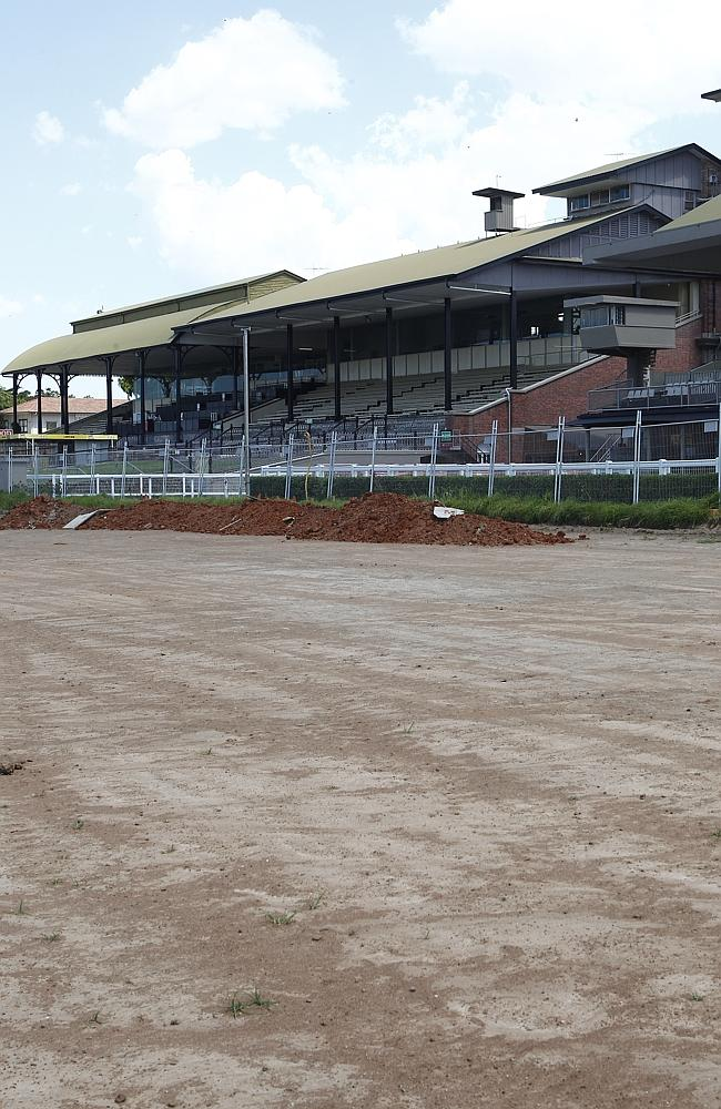 It seems that the Eagle Farm racecourse will be out of action for the best part of this y