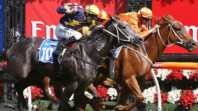 The decider: The $2.5 million Darley T.J. Smith Stakes features a showdown between three
