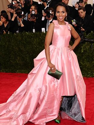 Kerry Washington arrives at The Met Gala