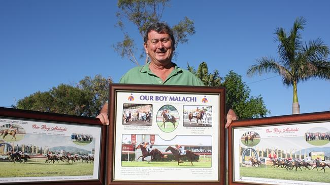 John O'Sing reflects on some of Our Boy Malachi's victories. Picture: Nicky Dobson
