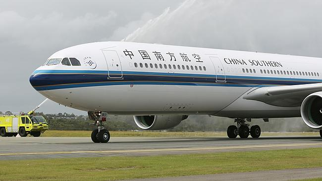 Training school ... China Southern has set up its own flight training school in Perth. Pi
