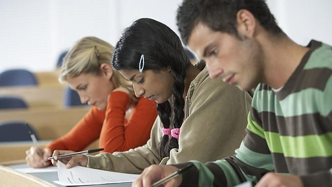 Universities are having to battle technology to stop students cheating.