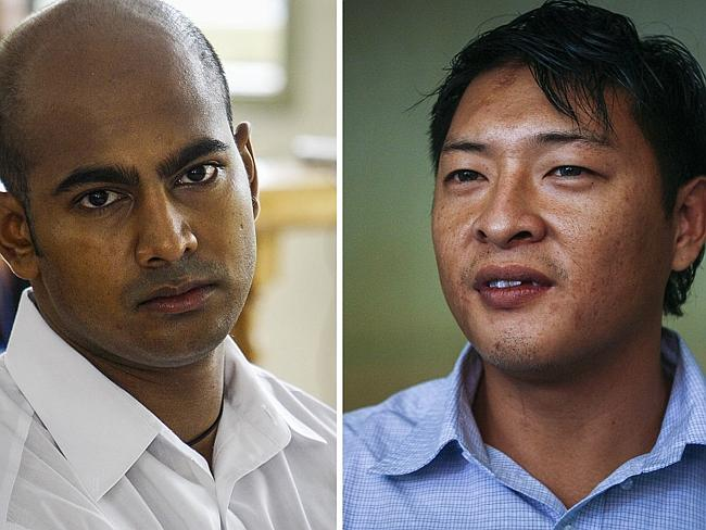 Executed ... Bali Nine ringleaders Myuran Sukumaran (left) and Andrew Chan were executed