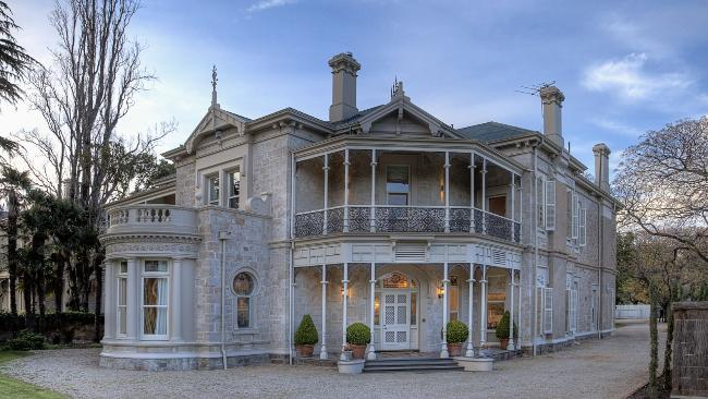 STRONG INTEREST: Ennis mansion at 28 Robe Terrace, Medindie. Picture: JONATHAN KISSOCK Source: AdelaideNow