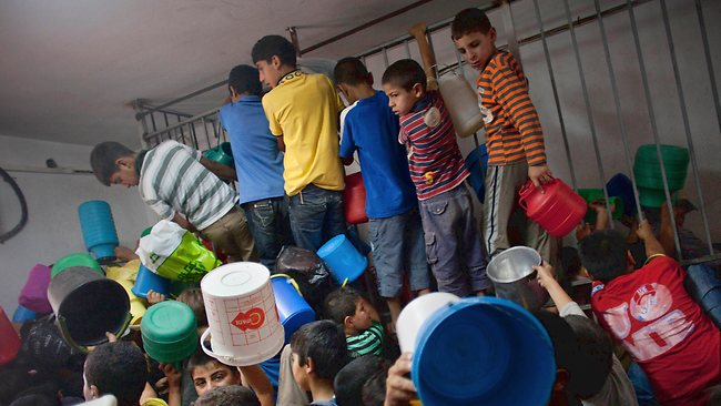110813 Palestinian children