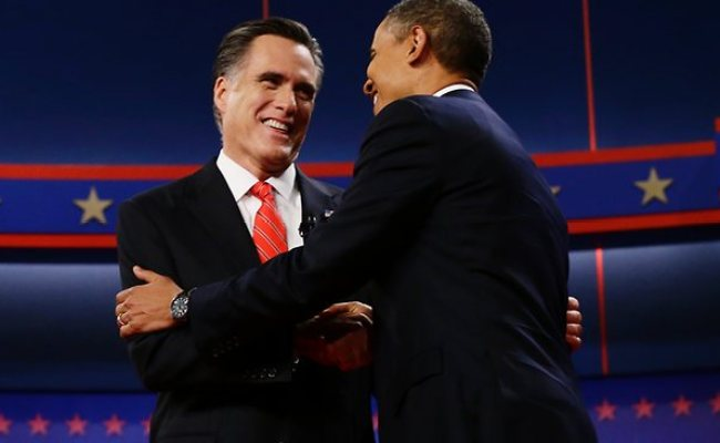 Experts Give Debate Win To Mitt Romney Over President