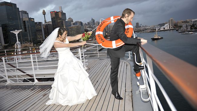 More couples tying the knot at sea
