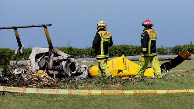 Bulli Tops helicopter crash