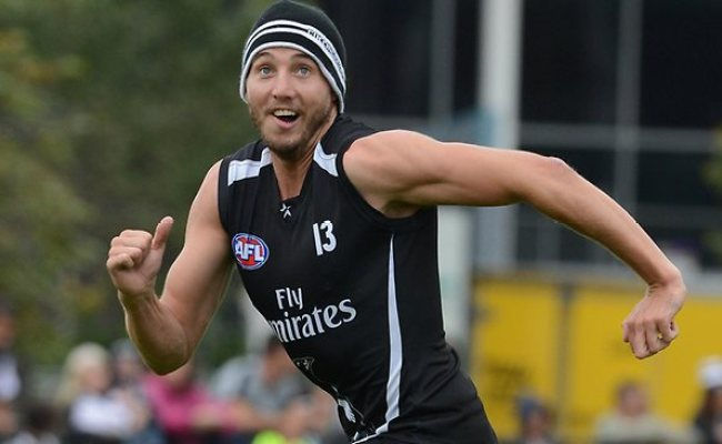 Collingwood Star Dale Thomas Says He Is Not Thinking