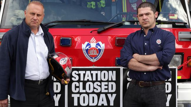 Maggio fuming over fire service cost cuts